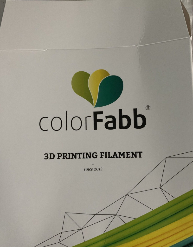 New ColorFabb Front